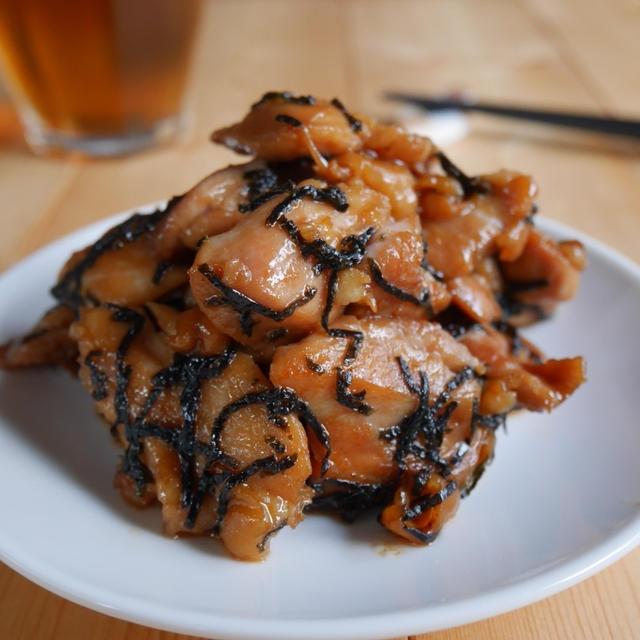 甘辛でご飯が進む!鶏肉の海苔照り焼き 簡単レシピ♪