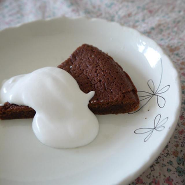 混ぜるだけの簡単チョコケーキ