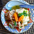 簡単10分!お肉香ばし&汁まで美味しい肉豆腐  ほど塩だって食べごたえ満点
