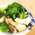 簡単☆鯛とブロッコリーのガーリックソテー
