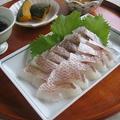 3度楽しむ鯛♪ 湯引き・漬け丼・お茶漬け by カシュカシュさん