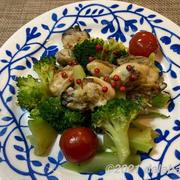 【レシピ】ブロッコリーと牡蠣の塩バター炒め 旬の旨味が凝縮された冬の食卓の一皿