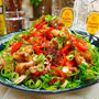 【レシピ】めっちゃ簡単♬豚こまとパプリカの青椒肉絲風♬