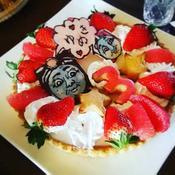 誕生日ケーキ#キャラケーキ#トーマス