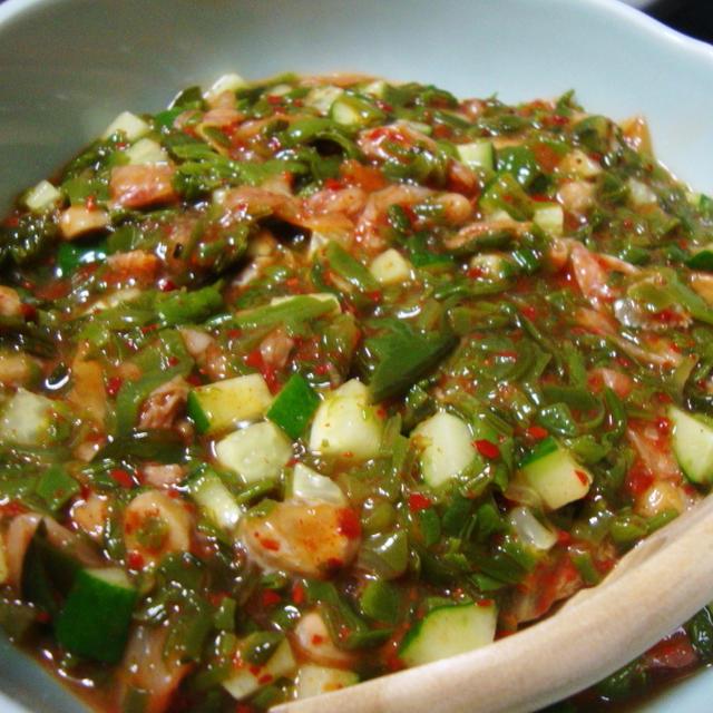 めかぶキムチ納豆