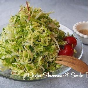 生で食べたい!瑞々しい春キャベツのオススメサラダ5選