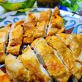 鶏むね肉のオーブン焼き♪スペアリブの調味料で簡単味付け