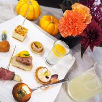花と料理で楽しむ♪ハッピーハロウィン講座♡お花で華やかな食卓に