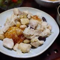 鶏肉とお豆のおこわ