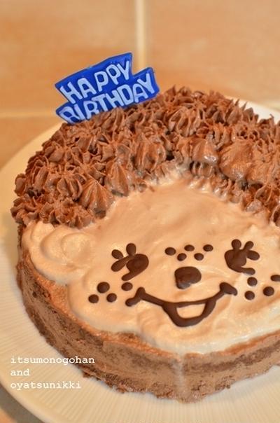 ものすごく「にせもの」なモンチッチケーキ