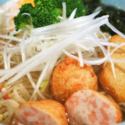■グルメ【春限定商品・AFURIと鈴廣のコラボで 真鯛のあら炊きラーメンセット】が娘から届きました♪