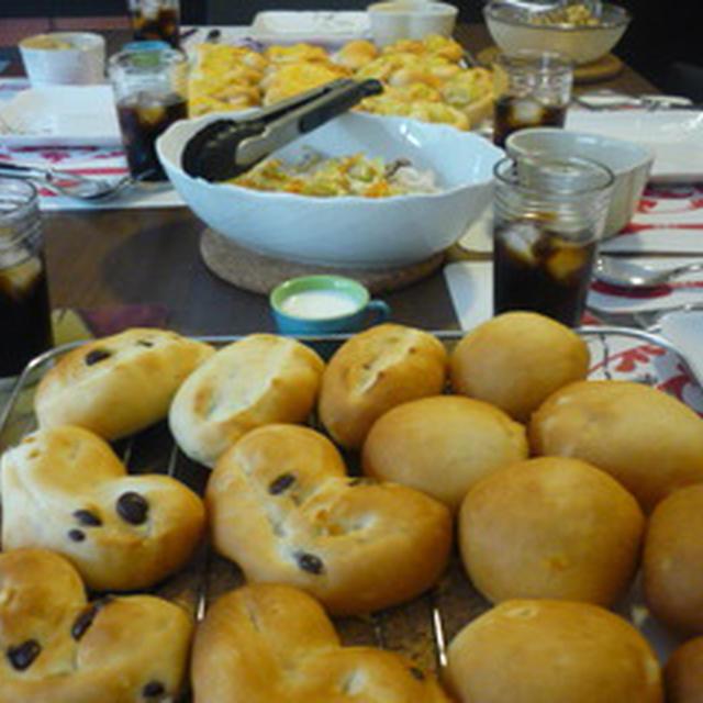 楽しいパン作り♪