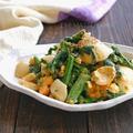 菜花とゆで卵のオイマヨサラダ【.肝機能の改善、免疫力アップ、風邪予防に】