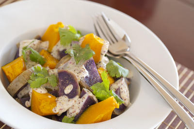 秋深まる~紫芋~レシピ。食べるのがもったいないほどキレイな9選。