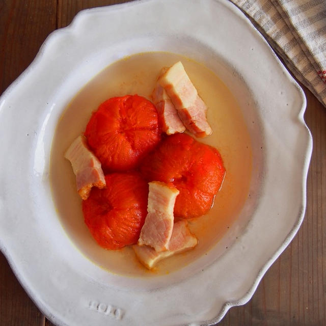 うまみたっぷり☆丸ごとトマトのスープ