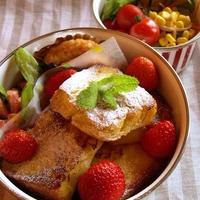 小岩井マーガリン【醗酵バター入り】deフレンチトーストのお弁当