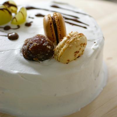 TOMIZのスポンジ利用で手軽にケーキ作り!