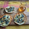 ホムパにおすすめ♡りんごとブルーチーズのミニピザ@イオン・ザ・テーブル㉘