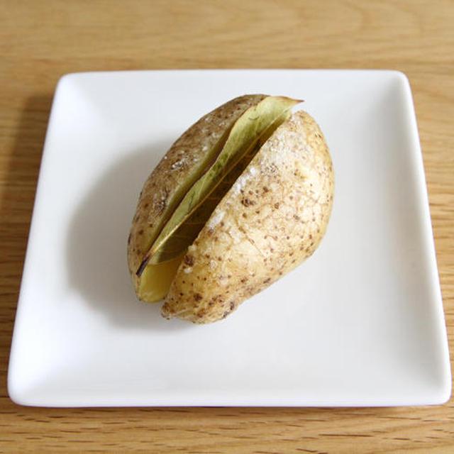 ローリエ風味のベイクドポテトの作り方の巻