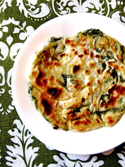葱油餅(ツオンヨウピン)。