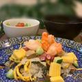 昨日レッスンはおせちの伊達巻利用で五目バラちらし寿司でした!! by pentaさん