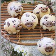 【レシピ】牛さん クッキークリームチーズパン。と 今日のおやつ(動画もあげてます♪)