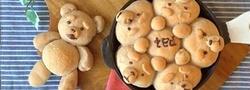 かわいいデコで話題沸騰中!ちぎりパンを作ってみよう♪