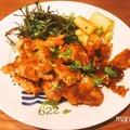 [レシピ]ハウス食品 スパイスクッキング「タンドリーチキン」を使った、タンドリー風♪チキンのサクサクパン粉焼き