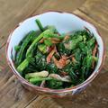 レンジで味付けかんたん!ほうれん草と桜エビの胡麻和えの副菜レシピ