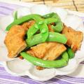 ★ミニレシピ★パッパッと10分♪スナップエンドウとさつま揚げの麺つゆ煮