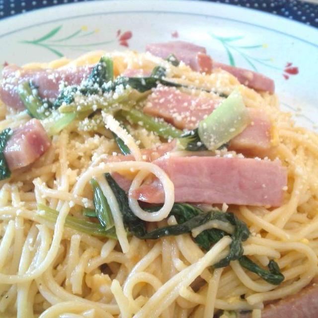 【レシピ】 カルボナーラ(^^♪