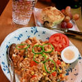 野菜たっぷり&リオナソーセージのピラフ ~ 炒めて炊くだけ簡単♪ by mayumiたんさん