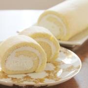 【クックパッド話題入り】チーズクリームの米粉ロールケーキ