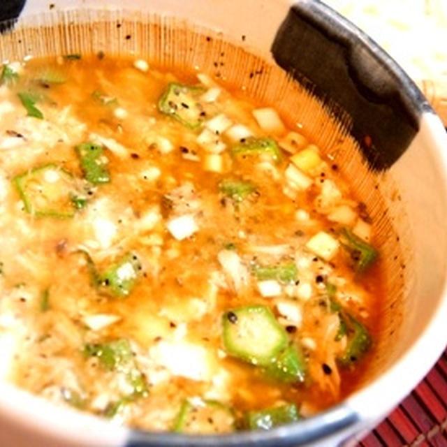 夏の昼はこれできまりっ、冷や汁風つけ素麺!