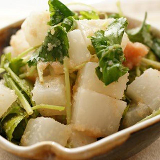 ころころ大根の明太サラダ