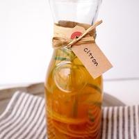 《レシピ》ローズマリーの香りのシトロンジュース