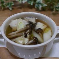 タラとネギのスープ