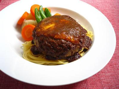 カレーチーズハンバーグ