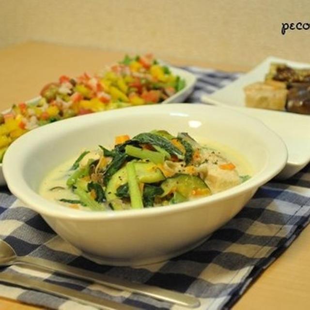 ☆野菜たっぷりシチュー&串焼きで4日夜ご飯☆
