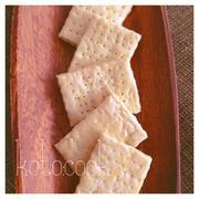 [お菓子]シンプルが体にも◎材料3つでサクサク菜種油クラッカー