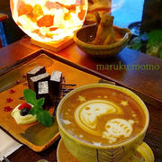 うつわが選べる♪cafeゆうでカフェラテアート&ケーキ【大阪カフェ巡り】