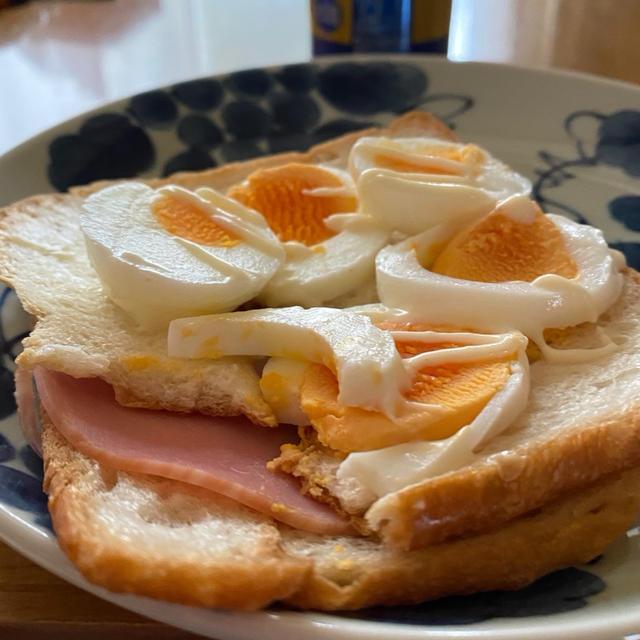 パン耳サンド&昼呑み