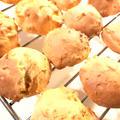 超簡単♪ホットケーキミックスでドロップクッキー♡セサミ&クリームチーズ味