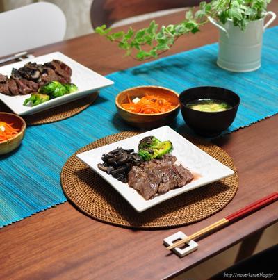 《肉料理の付け合わせに:芽キャベツのクミンソテー》と昨日の晩ごはん