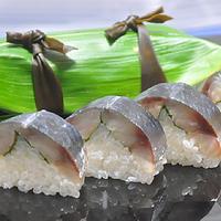 中サバの棒寿司 ☆ 旨炒めでレンコンサラダ