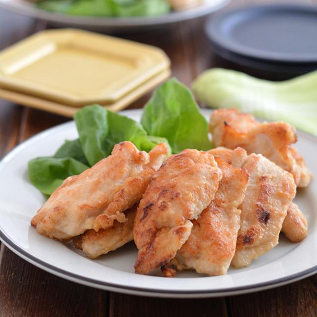 米粉衣の揚げ焼き鶏。【差し油で揚げ物風・時短・お弁当のおかず】のごはんの日。