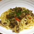 牡蠣のオイル漬けを使ってペペロンチーノレシピ by イクコさん