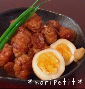 フライパンひとつ♡薄切り肉de簡単うまぁーい角煮風♡とゴントランシェリエ♪