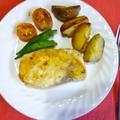 カジキマグロと野菜のオリーブオイル焼き