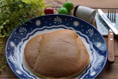 今日のおからパウダーホットケーキと鰹節♡今日もアメトピに掲載して頂きました。